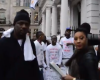 Height Of Ridicule Video: Nigerian Leaders of Tomorrow in UK, Protesting Against Buhari APC After they collected £20,000 Bribe from anonymous PDP
