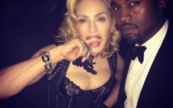 Madonna - Kanye West is a brilliant madman