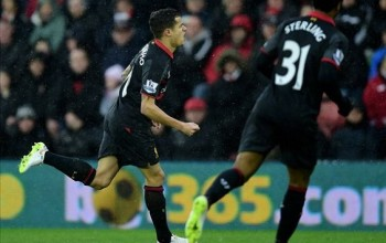 Liverpool Beat Southampton At St Mary's