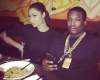 Nicki Minaj shares pic from her dinner date with new boo, Meek Mill