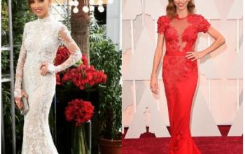 Photos: Giuliana Rancic's stunning outfits to the 2015 Oscars...