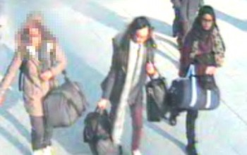 The schoolgirl jihadi brides: Three girls from one British school fly off to join ISIS as police face questions over how they were able to board Turkey flight