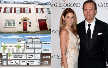 Iceberg house ahoy: Britain's richest woman with £7billion fortune upsets her neighbors with plans for two-story mega basement
