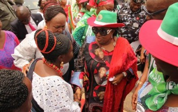"Patience Jonathan: ""If You Vote APC You Will Go to Prison. I'm not Ready to Feed my Husband in Prison"""