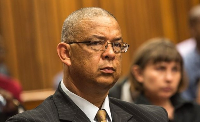 I'm the victim of a political conspiracy revealed McBride