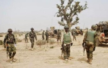 Watch This Video Of The Nigerian troops And JTF Tackling Boko Haram In Borno