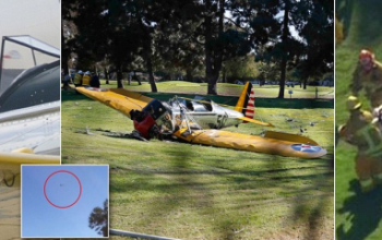 Hollywood Actor, Harrison Ford Reported Seriously Injured After Plane Crash in Los Angeles