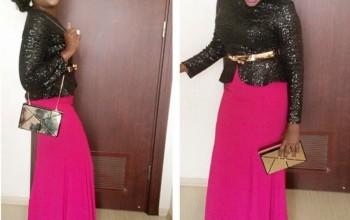 Sweet Babe! Funke Akindele's fab weekend look