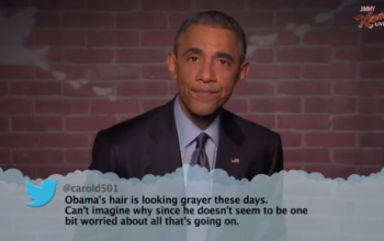 President Obama reads means tweets directed at him & it's brutal