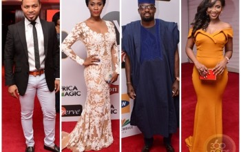 All The Glamorous Red Carpet Photos From The 2015 Africa Magic Viewers Choice Awards