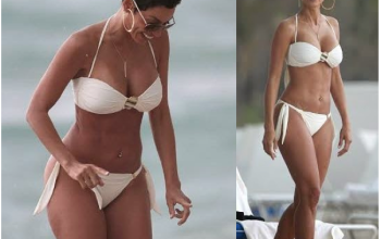Nicole Murphy, 47, shows off amazing bikini body....