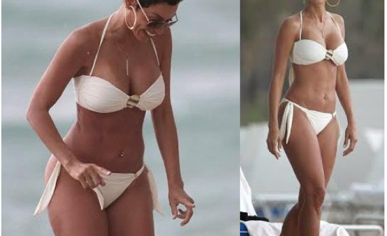 Nicole Murphy, 47, shows off amazing bikini body….