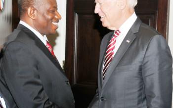 U.S VP Joe Biden Has Phone Call With Pres. Jonathan & Buhari | Commends Electronic PVC Card Reader Technology