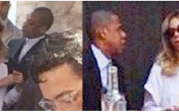 Jay Z and Beyonce caught fighting in public?