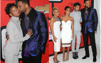 Pics: 14yr old Willow Smith is almost as tall as her dad, Will Smith
