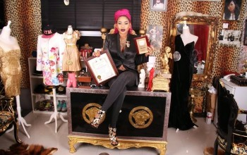 Toyin Lawani celebrates birthday with scholarship fund for her 'I Rep For Hope Charity'