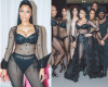Photos: Nicki Minaj shows off curves in sheer performance outfit