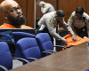 Suge Knight collapses in court after bail is set at $25M