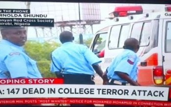CNN like to portray that every evils happening in Africa most come from Nigeria by saying Nairobi is in Nigeria