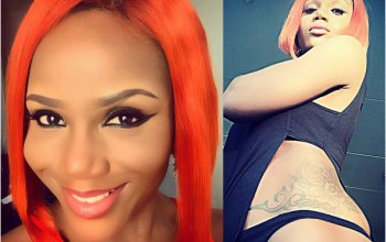 Ladies, would you rock Maheeda's fiery orange/red hair? (photos)