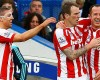 #Sport: Stoke City's #Charlie Adam scores from 65 yards out