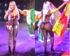 OMG! (photos)-Nicki Minaj's stage costume from the back is... Hmm