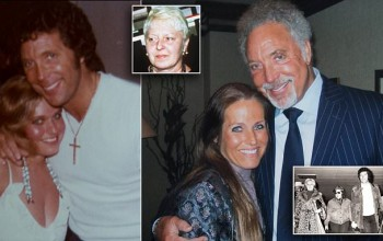 My secret three-year affair with Sex Bomb Tom Jones - aided by his own son: Former flame says star's wife turned blind eye to his hundreds of affairs