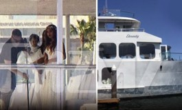 #Beyonce's mum weds. See photos from the wedding on a Yacht