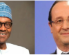Hmm what is your plan? French President invites Buhari to Paris for bilateral talks