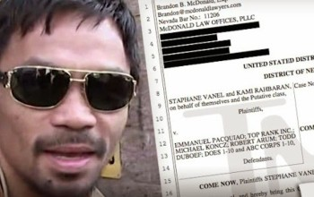 Lawsuit filed against #MannyPacquiao for not reporting shoulder injury before #Vegas fight