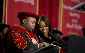 Michelle Obama Loose out on Race issues in Graduation Speech Tuskegee University