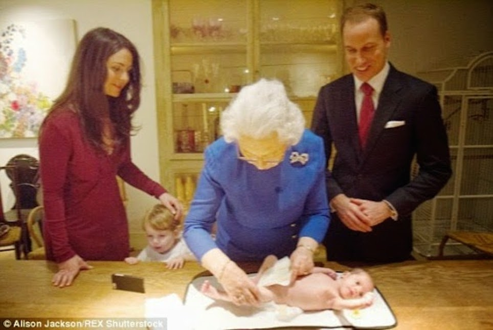 Маленький принц и его родители плюс сестричка AC1