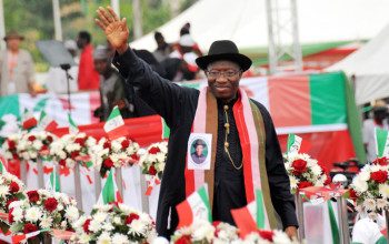 #GoodbyeGEJ: Nigerians on Twitter Say Farewell to Pres. Jonathan