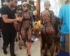 Pics: #AmberRose attends pool party in #Vegas in a see-through outfit
