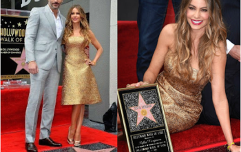 Sofia Vergara gets inducted into Hollywood Walk of Fame as her frozen embryo battle gets nasty