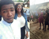 Pics: Riot at Benson Idahosa Uni. after student dies at school Clinic