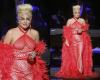 Photos: Lady Gaga goes bra less as she performs on stage