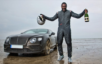 Actor Idris Elba breaks speed record in a Bentley