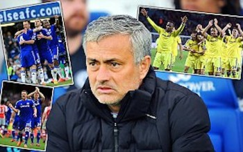 Jose Mourinho's success is driven by fear of failure. Once Chelsea win the title, his mind will be straight on to the next trophy