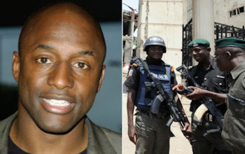 John Fashanu interrogated by police after they discover illegal gun at his house in Abuja