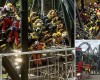 Horror at Alton Towers as four people are seriously injured and others trapped for FOUR HOURS after 50mph Smiler ride smashes into empty carriage sent out to test track following earlier fault