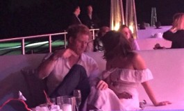 Photographs: Prince Harry spotted getting comfy with on-screen character at Polo occasion