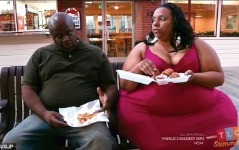 I cherish my shape, men don't favor thin young ladies - Woman with the World's Biggest Hips