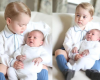 In the first place photographs of Prince George & his younger sibling, Princess Charlotte
