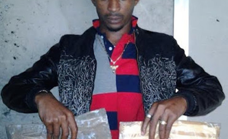 Photographs: NDLEA capture specialist with 225 grams of cocaine inside his rear-end