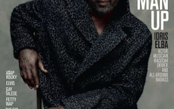 Idris Elba is the first man ever on the cover of Maxim