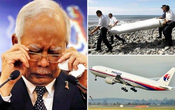 Washed up wing part IS from missing Flight MH370: 515 days after it vanished, Malaysian PM says we can finally be sure jet crashed into sea