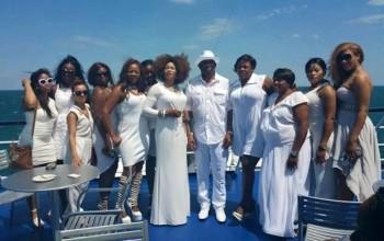Photos from Senator Amori 's pre-birthday boat cruise in the US