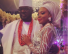 1st Photos from Dolapo Oni & Gbite Sijuwade's Royal Traditional Wedding!