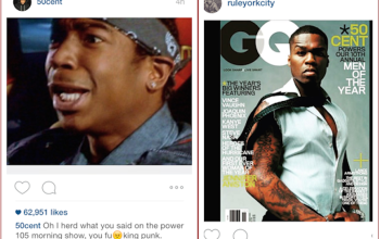 Rappers 50 Cent and Ja Rule come for each other on social media..lol